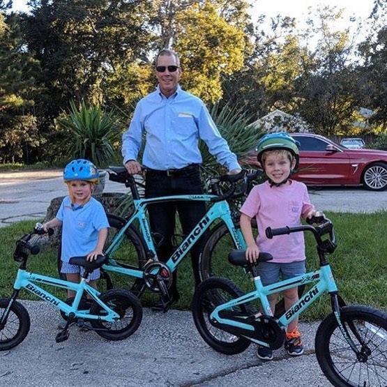 Детский велосипед Bianchi – первый шаг к большим победам
