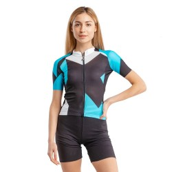 Веломайка ASSOS WOMEN`S ROCK SS JERSEY damBlue лето женская