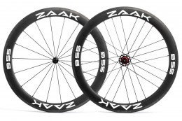 Колеса ZAAK Road 55mm Rim Brake Shimano Carbon Clincher/tubeless