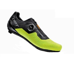 Велотуфлі DMT KR4 Road Black / Yellow Fluo