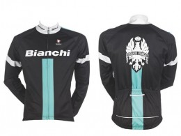 Куртка BIANCHI Reparto Corse Nalini Cycling Wear Black L