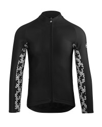 Веломайка ASSOS MILLE GT SPRING FALL LS JERSEY blackSeries весна-осень