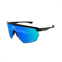 Очки Scicon AEROWING SCNPP Multimirror Black Gloss/Blue EY26030201